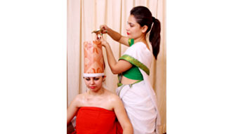 Sirovasthi Ayurveda Treatment at Haritha Ayurveda India