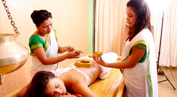 Vasthi treatment at Haritha Ayurveda India