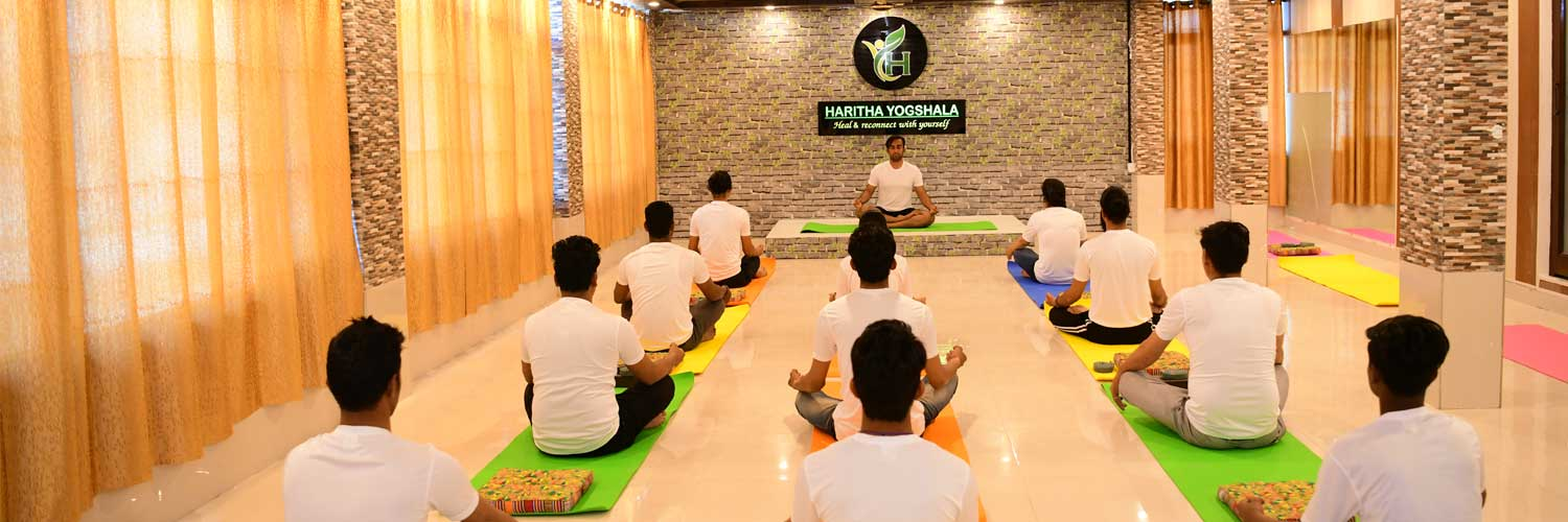 Pranayama Session at Haritha Yogshala Rishikesh India