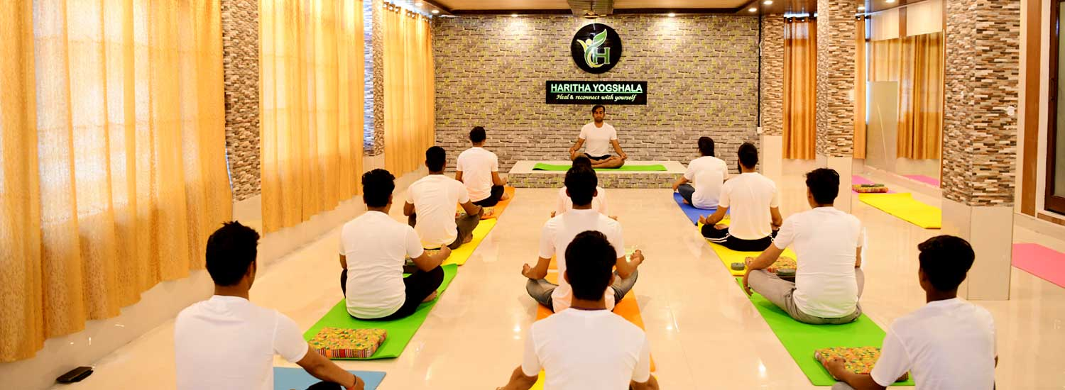 Meditation Teacher Training in Haritha Yogshala at Rishikesh India
