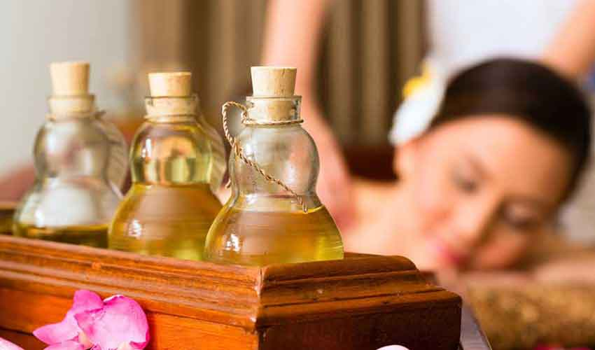 Aromatherapy Massage in Rishikesh, India at Haritha Yogshala