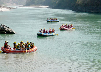 Rishikesh White Water River Rafting
